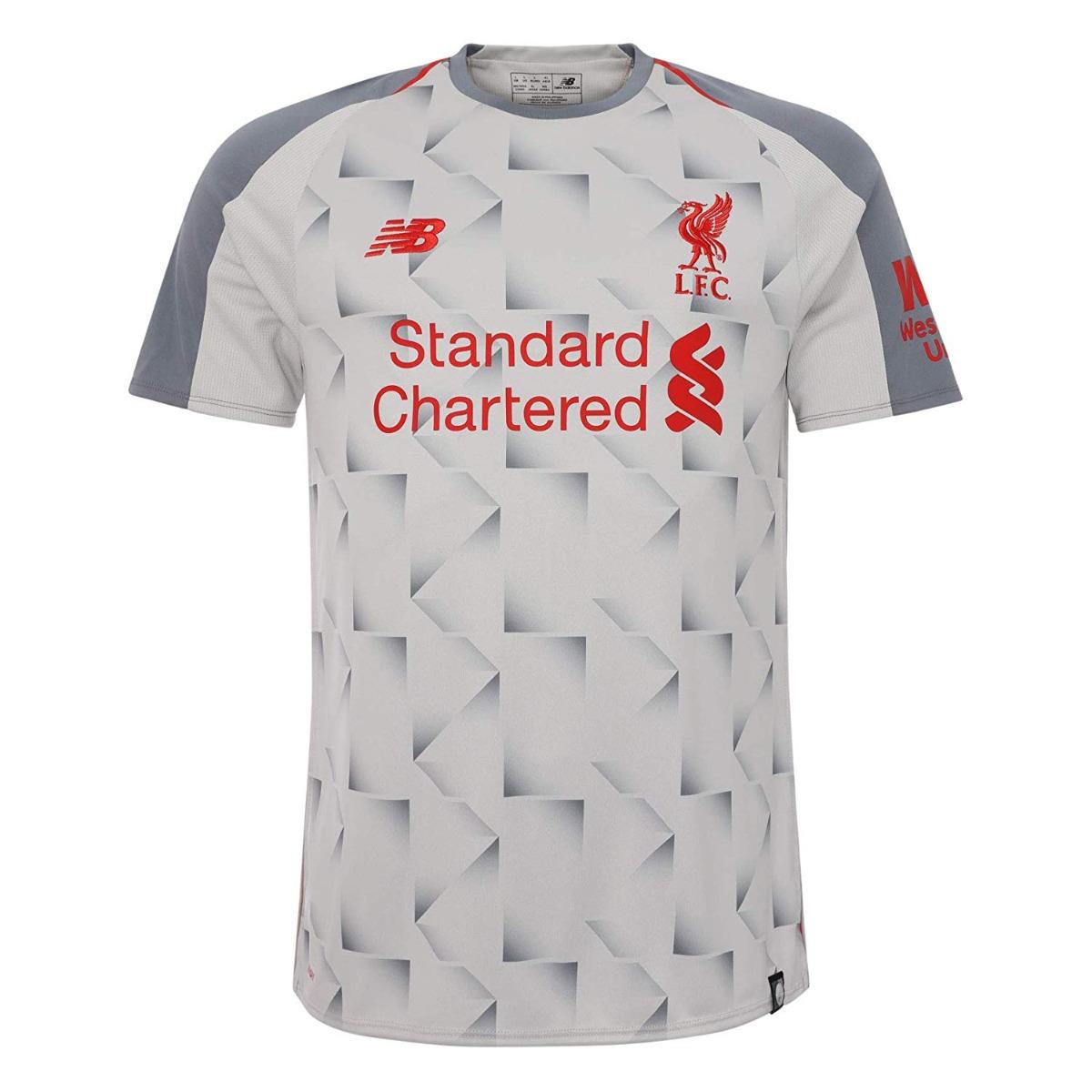 519a7387b77 Jersey Playera Liverpool Tercer Kit 2018-2019 Salah Firminho -   350.00 en Mercado  Libre