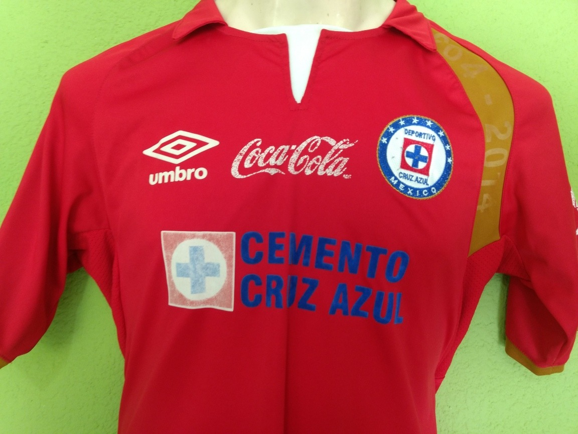 6a4b9d32721 Jersey Playera Maquina Cruz Azul Umbro Roja -   299.00 en Mercado Libre