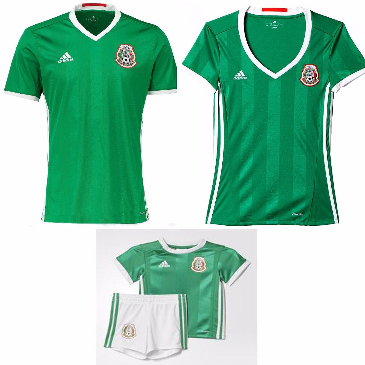jersey playera mexico 2016-2017 hombre y niño seleccion. Cargando zoom. 97b935395edbf