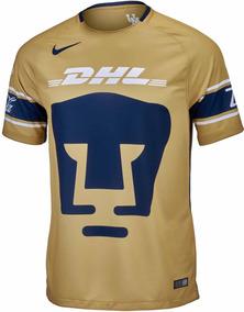 c434d862b Jersey Playera Nike De Pumas De Unam Dorada Oro Original