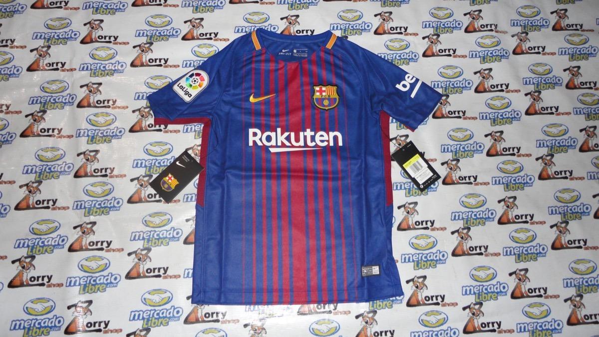 Jersey Playera Nike Del Barcelona De Local Para Niños -   589.00 en ... 76327edabe9