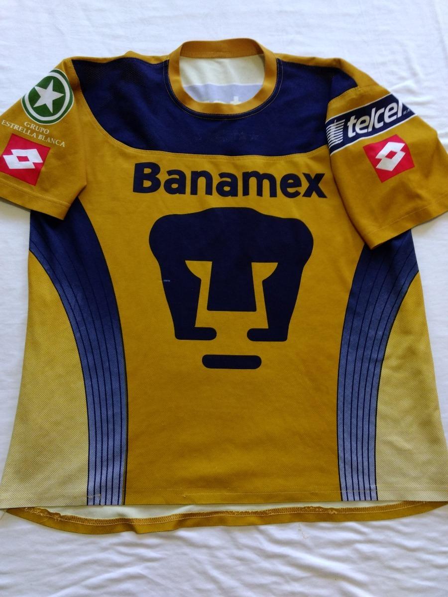 53f11c116 Jersey Playera Pumas Unam Lotto Portero Talla L 2004 - $ 859.00 en ...