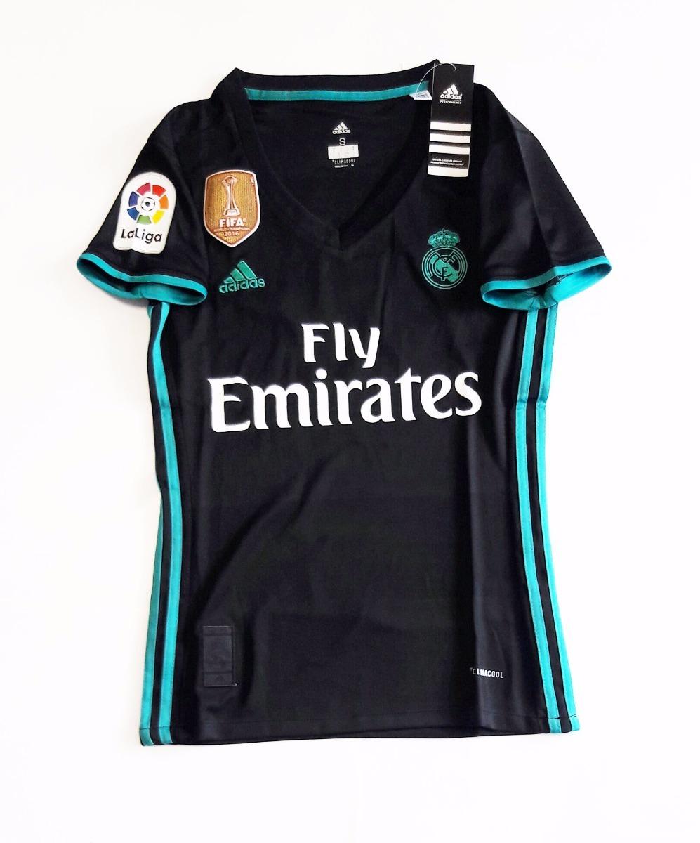 Jersey Playera Real Madrid 17 18 Visita Para Dama -   550.00 en ... c838f549cf4
