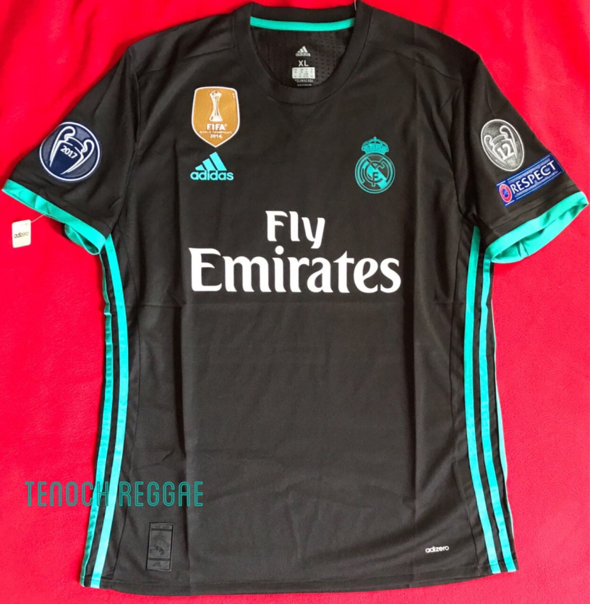 733e8c5114940 Jersey Playera Real Madrid 2017-2018 Champions League -   799.00 en ...