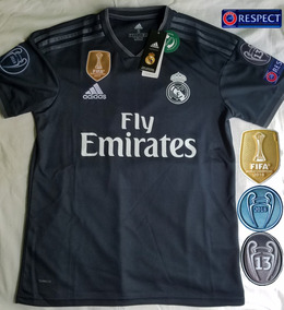 81fc47ed19 Uniforme Completo Real Madrid Negro - Artículos de Fútbol en Mercado Libre  México