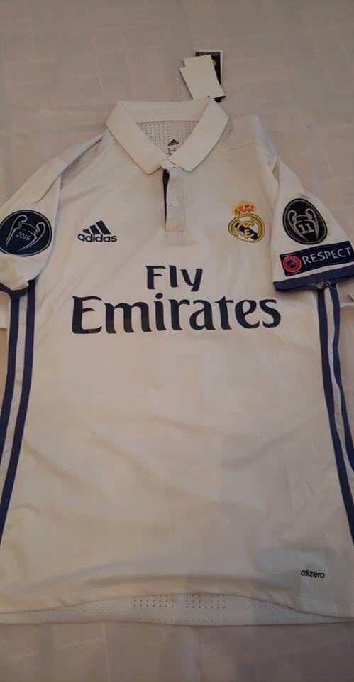 a7090dac0c530 Jersey Playera Real Madrid Adizero 2016-2017 James -   320.00 en ...