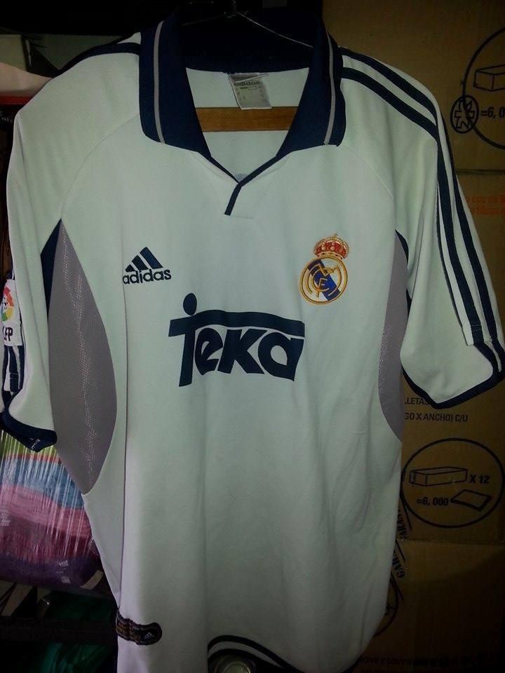 new arrival ec5fb cfe47 Jersey Playera Real Madrid Año 1999 2000 Luis Figo - $ 600.00