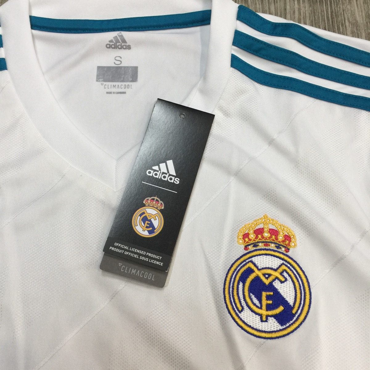 jersey playera real madrid az8059 original look tendy. Cargando zoom. d75bc82047f39