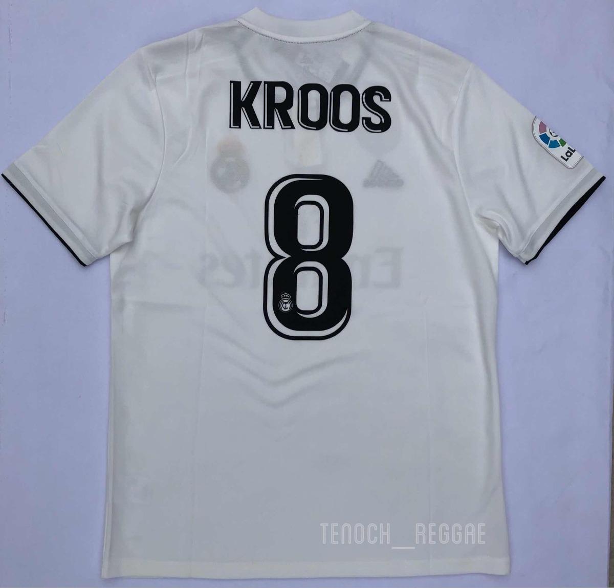 Jersey Playera Real Madrid Local 2018 2019 Kroos -   679.00 en ... 87905126a3fac