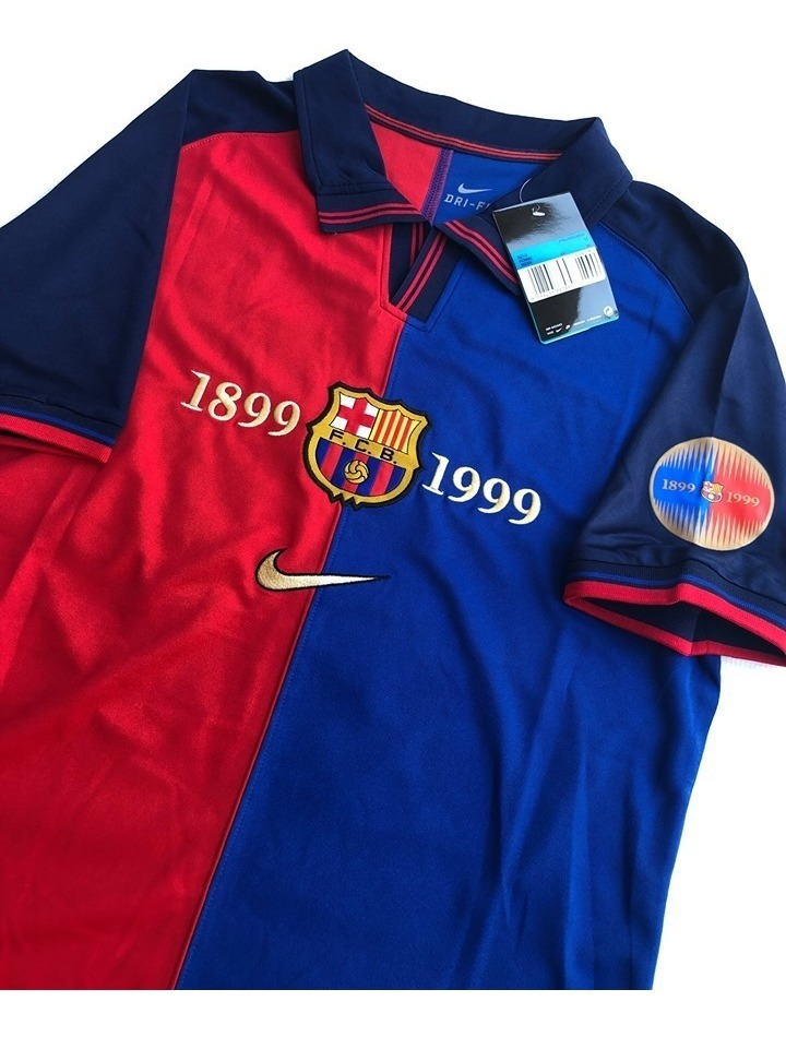 lowest price 8b104 bb163 Jersey Playera Retro Barcelona Centenario 1999 / 2000
