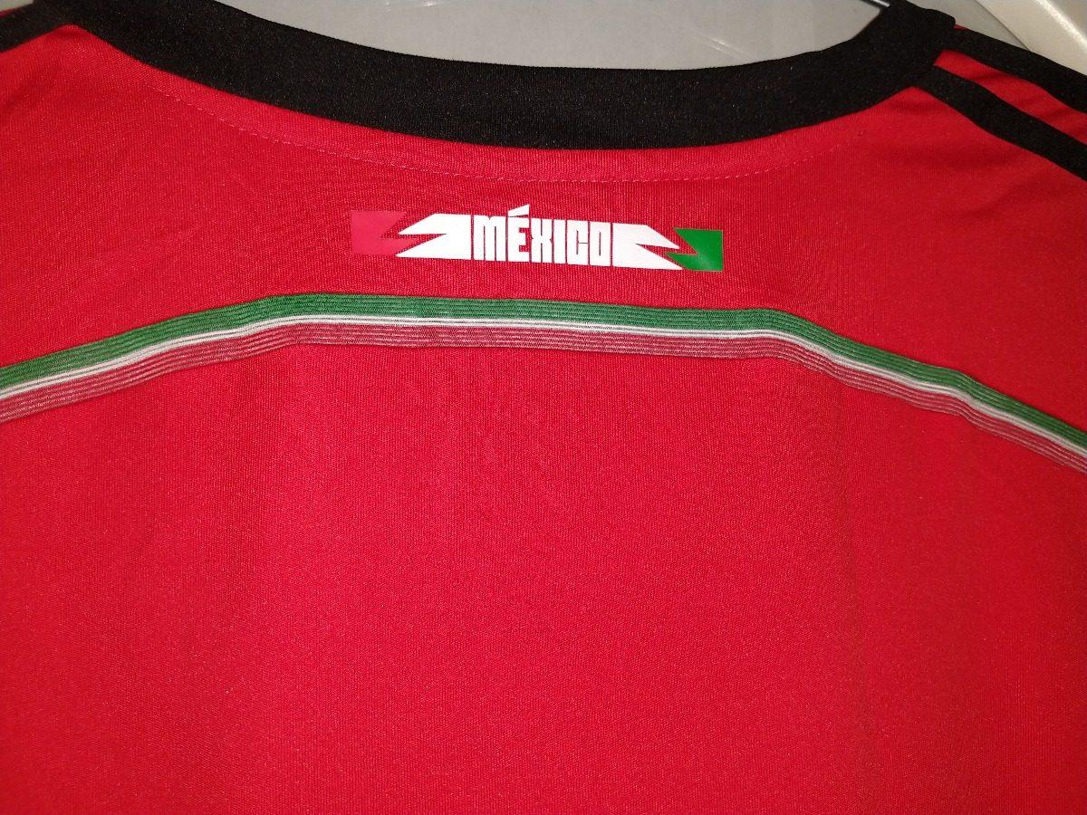 71d324b378a3f jersey playera seleccion mexicana brasil 2014 talla grande. Cargando zoom.