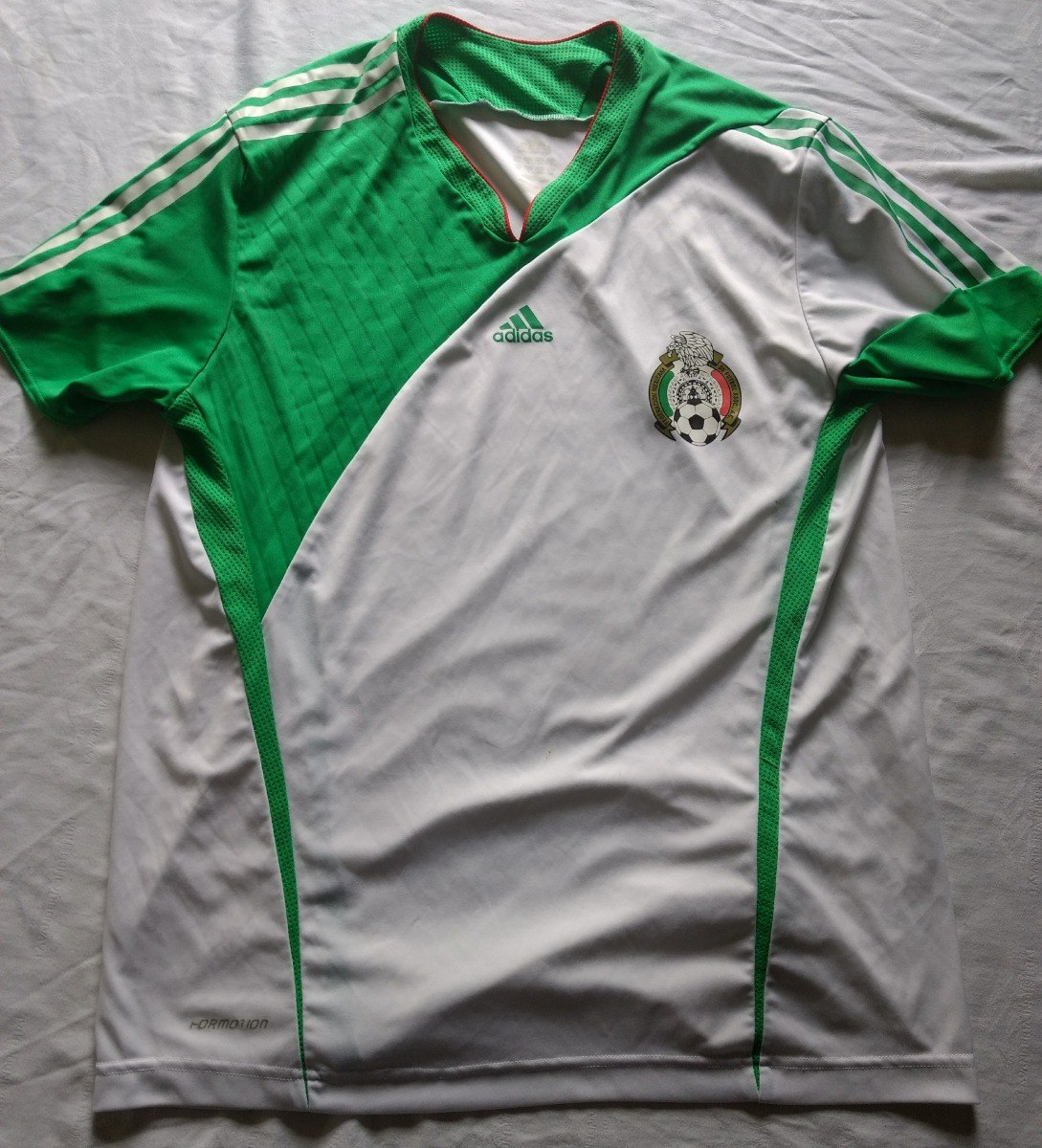 c7611e6af69a6 jersey playera seleccion mexico adidas entrenamiento talla l. Cargando zoom.