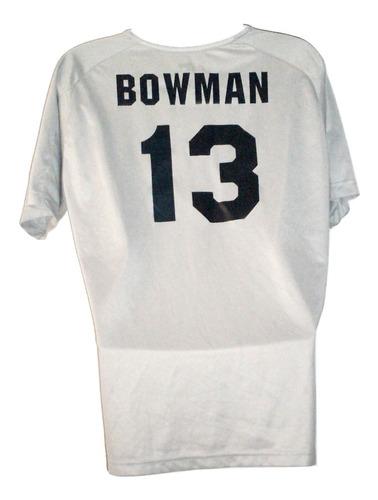 jersey playera voleibol dallas original usada volei bowman talla l/m liquidacion $239a