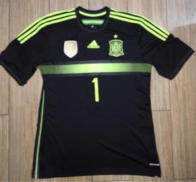 301619e6a1d Jersey Portero adidas España Iker Casillas Campeón Del Mundo