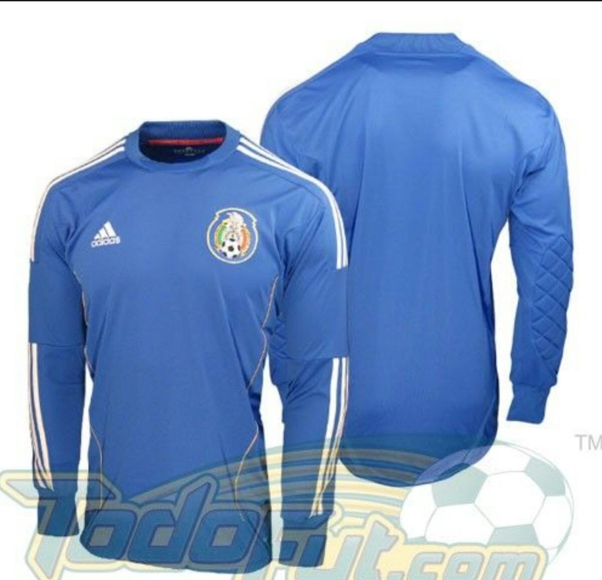 232e9755d3eca jersey portero mexico azul xl clima cool. Cargando zoom.