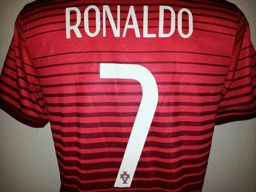 jersey portugal 2014 local rojo cristiano ronaldo envío grat