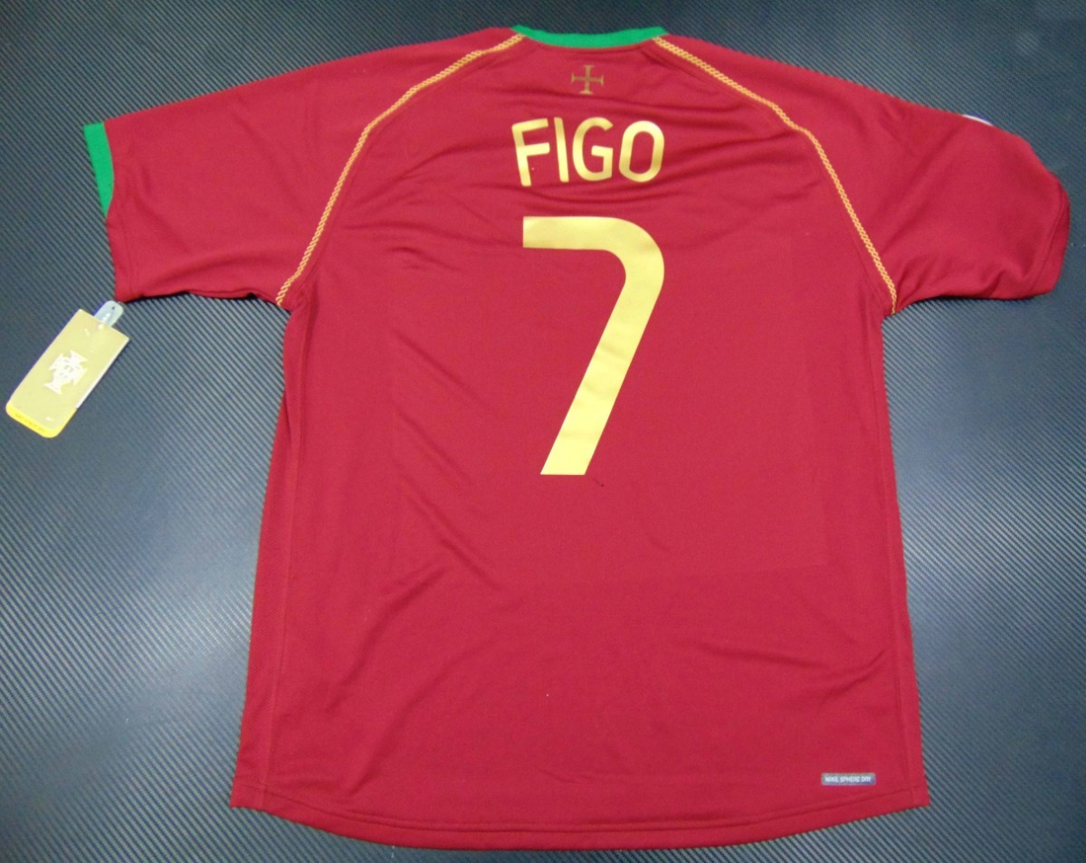 best sneakers 29ace acfd1 Jersey Portugal Wc 2006 Luis Figo Local Real Madrid Inter