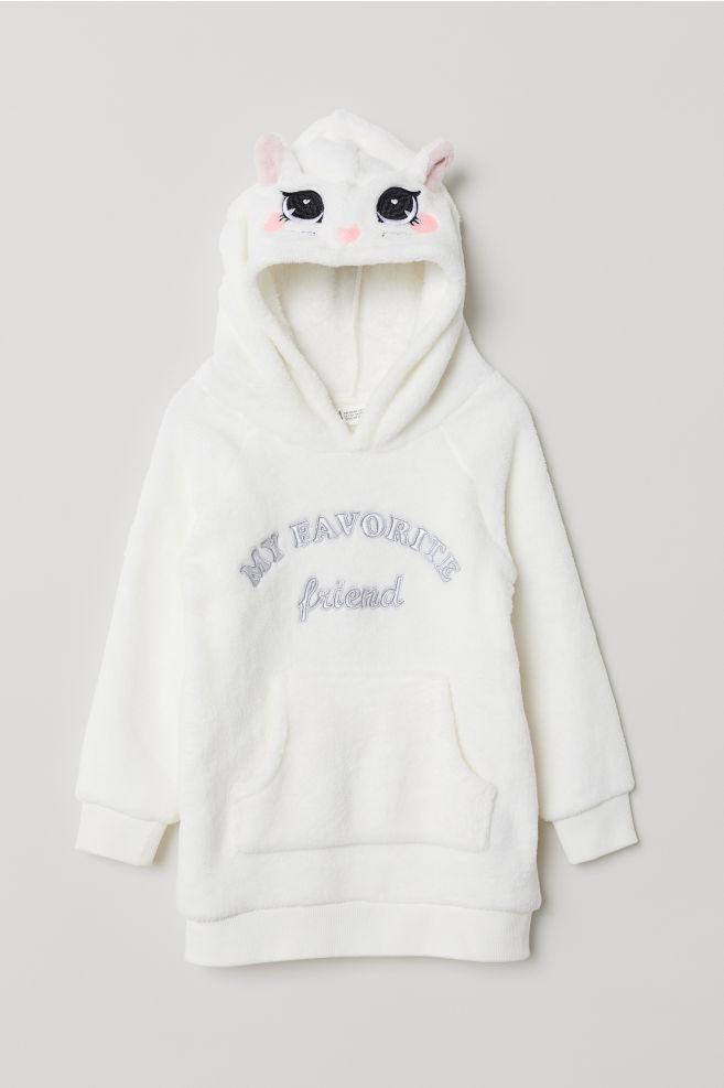 d9ae68a55 Jersey Pulover Buzo Nena Importado H&m Usa Capucha Polar - $ 1.479 ...