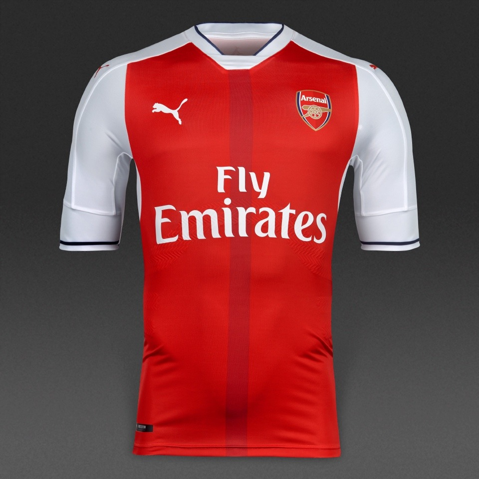 best website 3d6ea f74c1 Jersey Puma Arsenal 2016-17 Local Jugador Original 100%