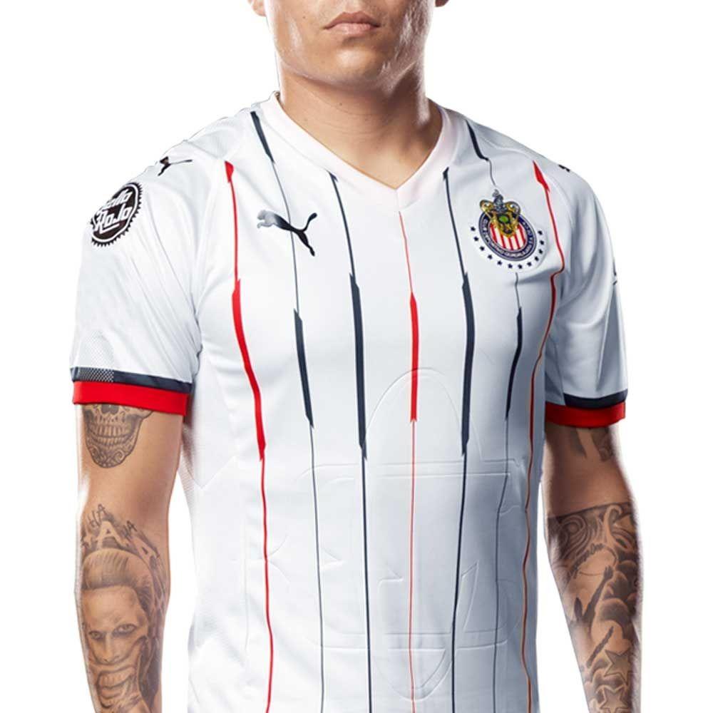 reputable site 1a63f 53fed Jersey Puma Chivas Away Shirt Replica 18-19 Ab182534 Hombre