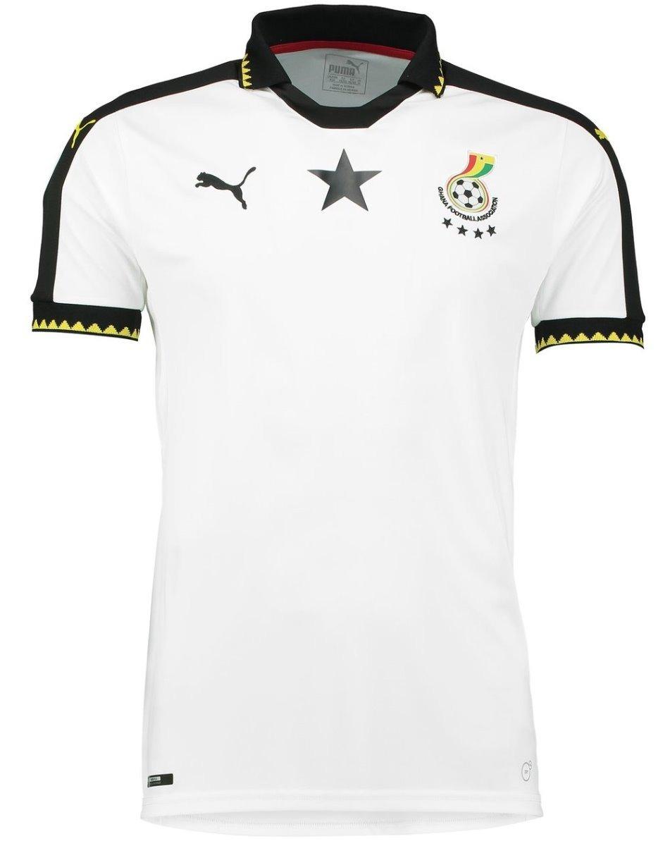 50b1b4011da Jersey Puma Ghana Local 2017 ¡original! Para Caballero -   499.00 en ...