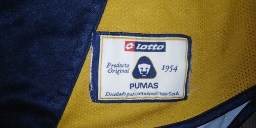 jersey pumas lotto 2002 manga larga