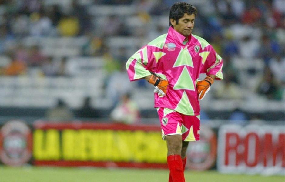 e2d1ac100 Jersey Pumas Mexico Jorge Campos Homenaje Unico -   900.00 en ...