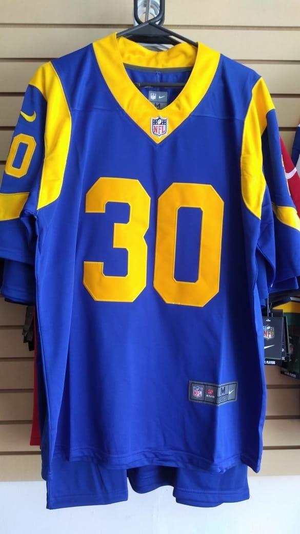 innovative design e0935 4afea Jersey Rams Azul Gurley Envio Gratis
