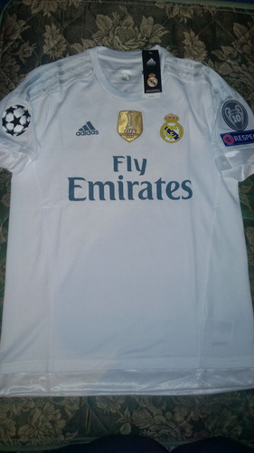 jersey real madrid 15/16 adizero