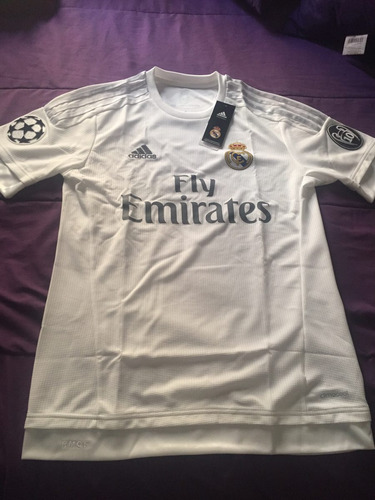 jersey real madrid 15/16 edición champions league.