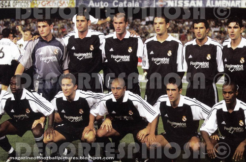 jersey real madrid 2001-2002 adidas visita #5 zidane