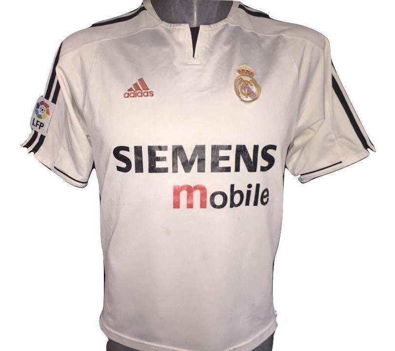 more photos c9ec6 b4645 Jersey Real Madrid 2003-2004 adidas Gira Asiatica #7 Raul - $ 550.00