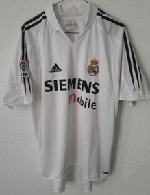 online store 1be45 a156c Jersey Real Madrid 2004-2005 Beckham Francia 2004 Zidane