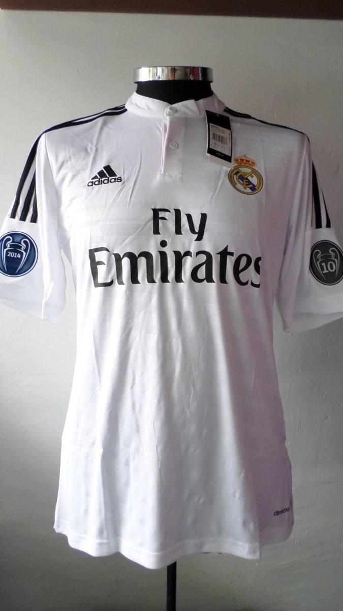 sports shoes d9666 18089 Jersey Real Madrid 2014 2015 100% Original Champions League
