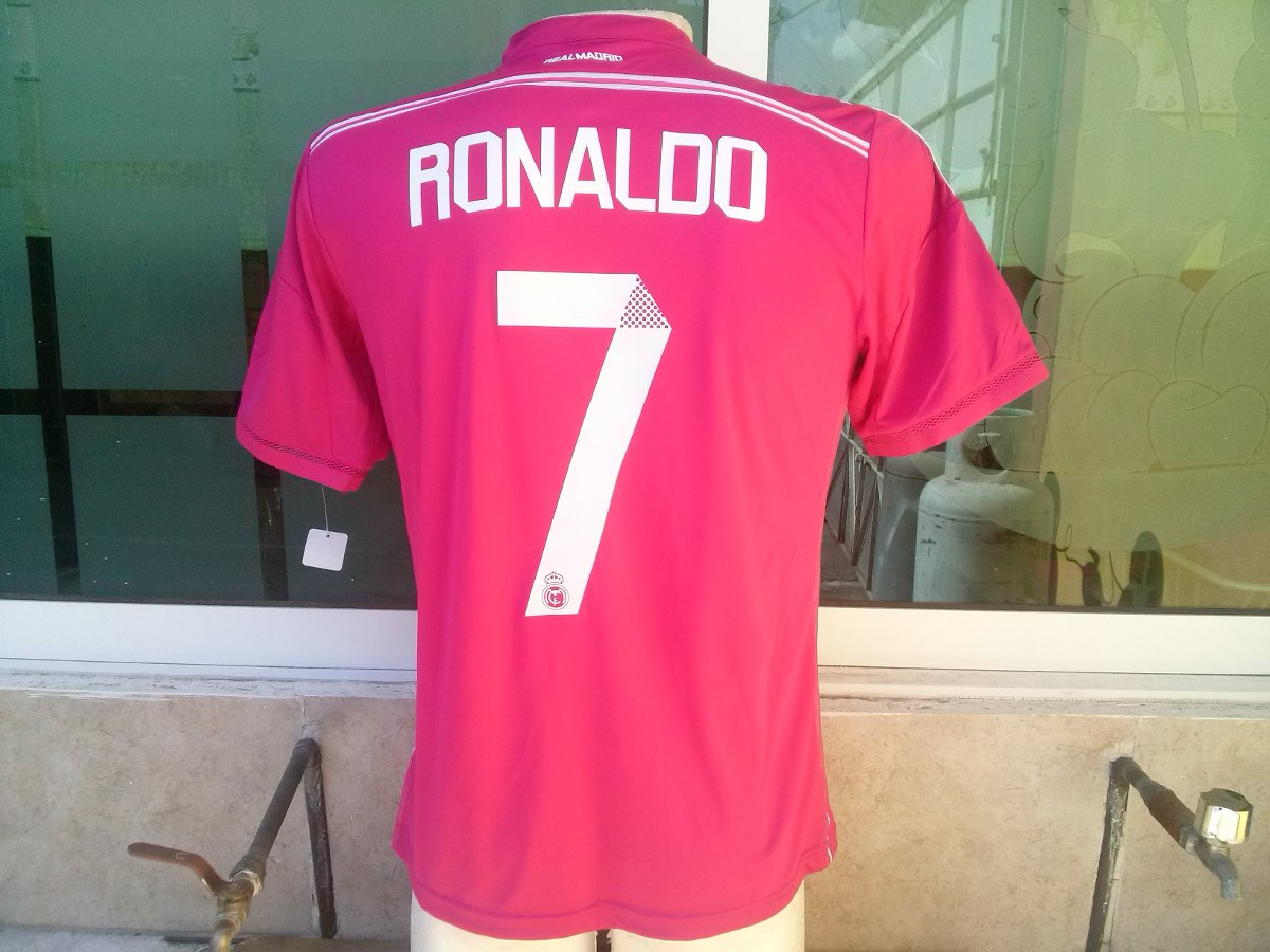 721de4ee8d71f Jersey Real Madrid 2014-2015 Ronaldo Rosa Original -   650.00 en ...