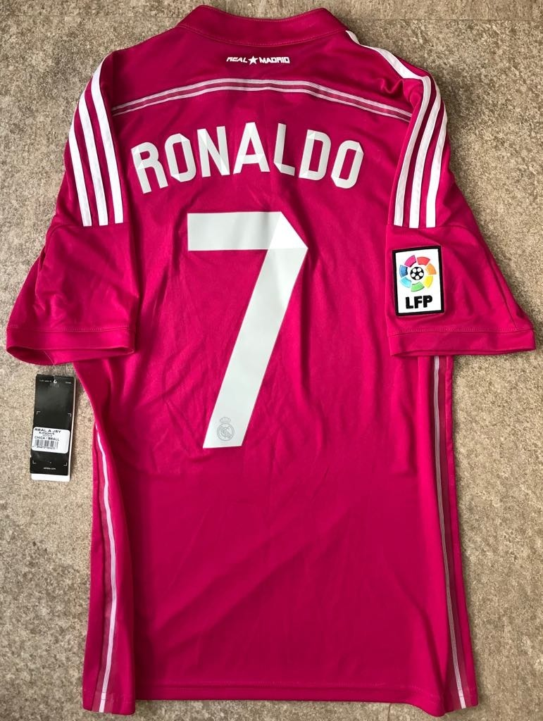 check out 3cdff 70169 Jersey Real Madrid 2014-2015 Rosa Cristiano Ronaldo