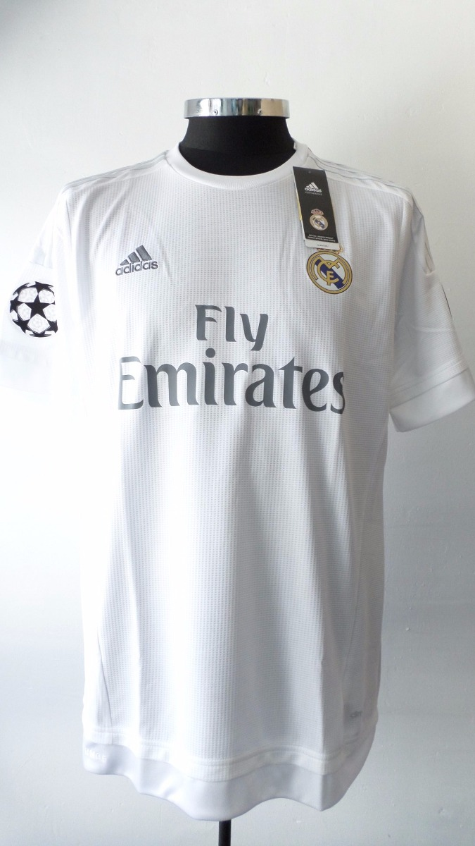 reputable site fd387 65c93 Jersey Real Madrid 2015 2016 100% Original Champions League