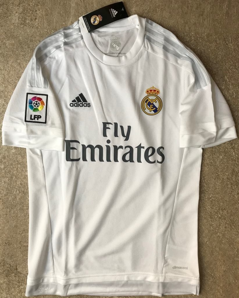 a6ccfe1555842 Jersey Real Madrid 2015 2016 Local Hombre -   500.00 en Mercado Libre