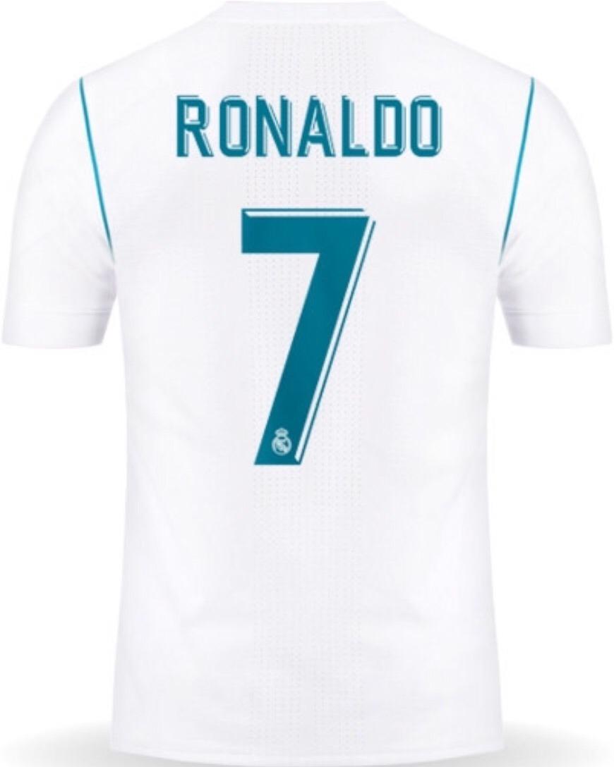 super popular 34c54 bb076 Jersey Real Madrid 2018 Blanco Cristiano Ronaldo Envío Grati