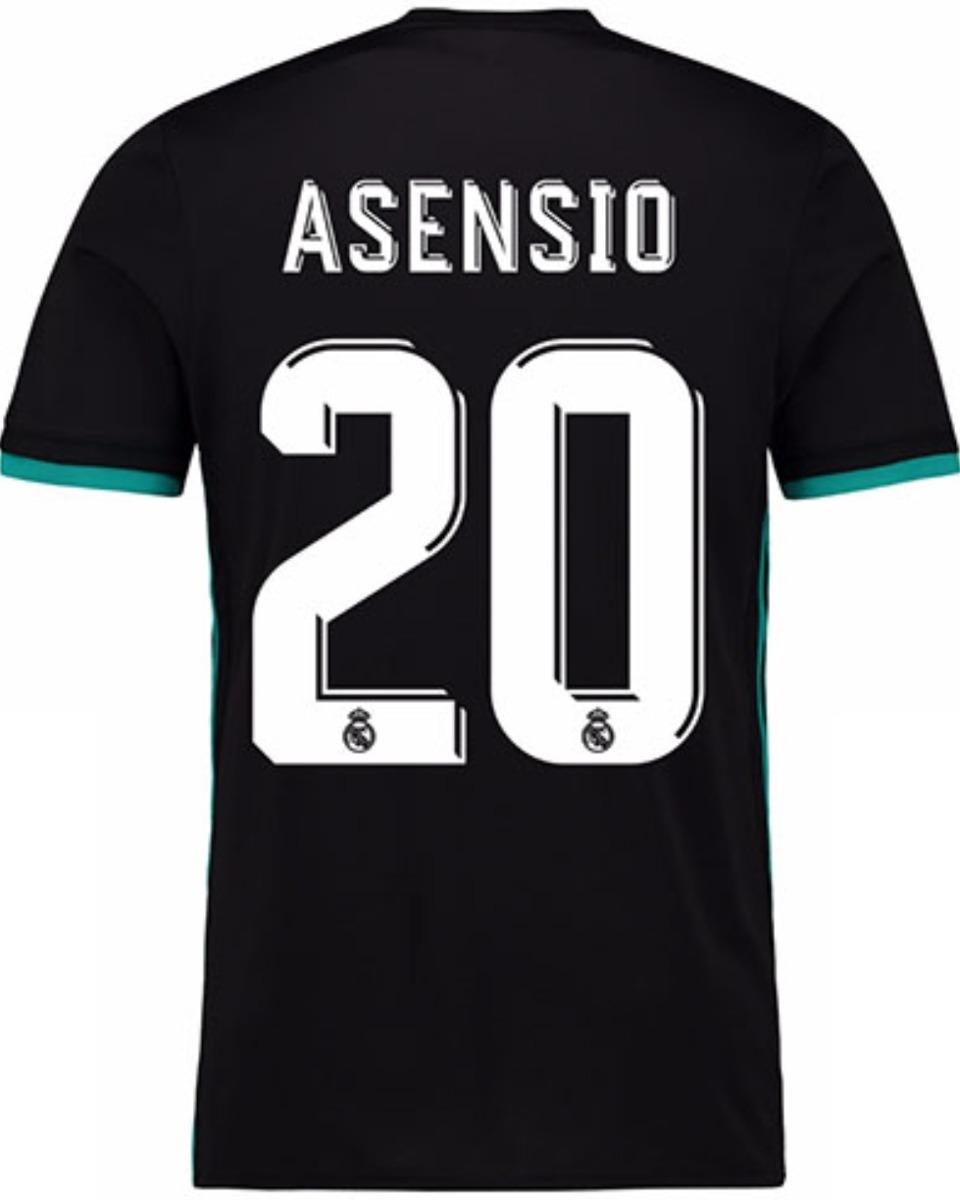 Jersey Real Madrid 2018 Negro Marco Asensio Envío Gratis - $ 798.00 ...
