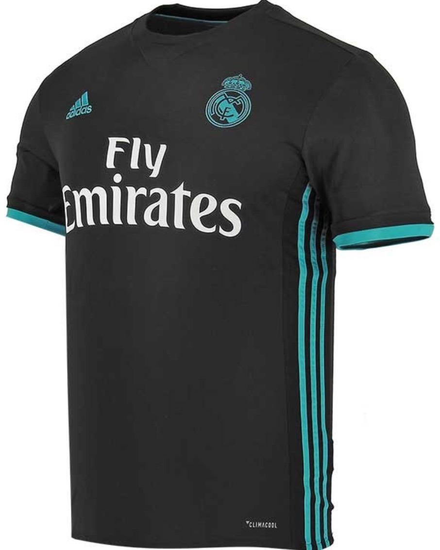 innovative design 34617 c0b0f Jersey Real Madrid 2018 Negro Marco Asensio Envío Gratis