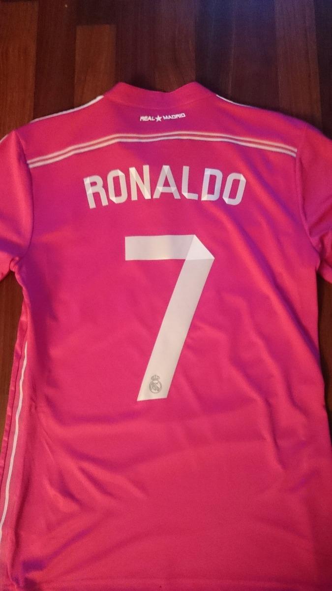 e1e24dbd29f08 Jersey adidas Real Madrid 2015 Visita Rosa C numero Original ...