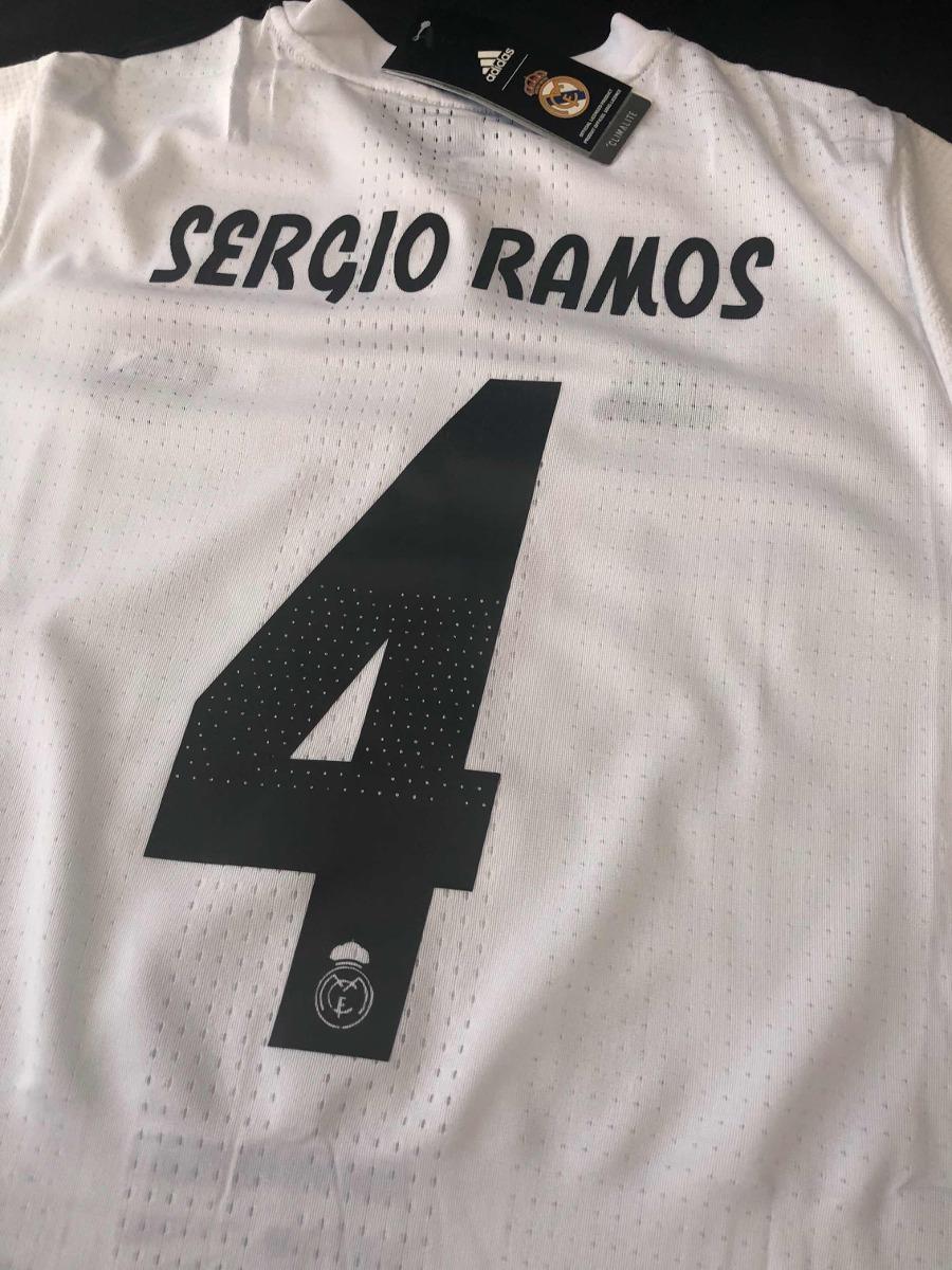 Cargando zoom... real madrid jersey. Cargando zoom... jersey playera real  madrid 2019 sergio ramos más nombres 1d206460c5697