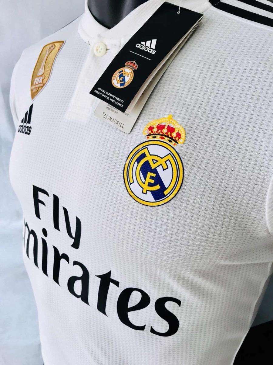 jersey playera blanca del real madrid champions 2018 2019. Cargando zoom... jersey  real madrid. Cargando zoom. 8237c070ef127