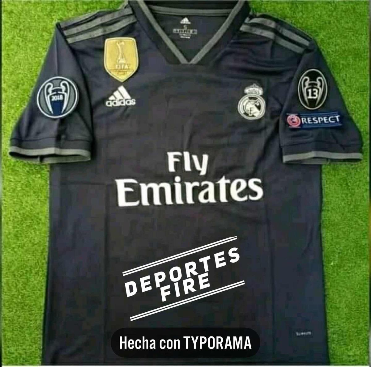 bf1974b89 Características. Marca AFICIONADO  Equipo Real Madrid  Tipo de jersey  Alternativa ...