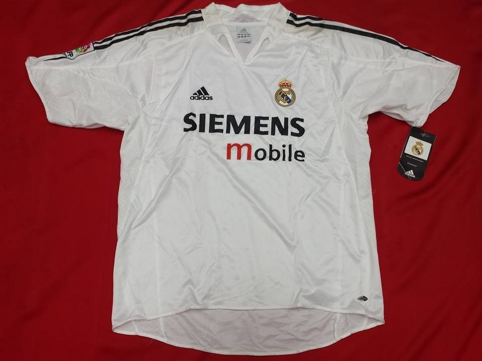 various colors 7788d 0612b Jersey Real Madrid adidas 2004 2005 Loc Original Importada