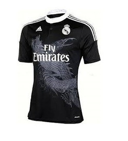 437db3294 Jersey Real Madrid Negra Con Dragon - Deportes y Fitness en Mercado Libre  México