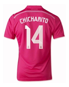 the best attitude 7df8c 5533d Jersey Real Madrid Chicharito Ch14 adidas 2014 Mexico