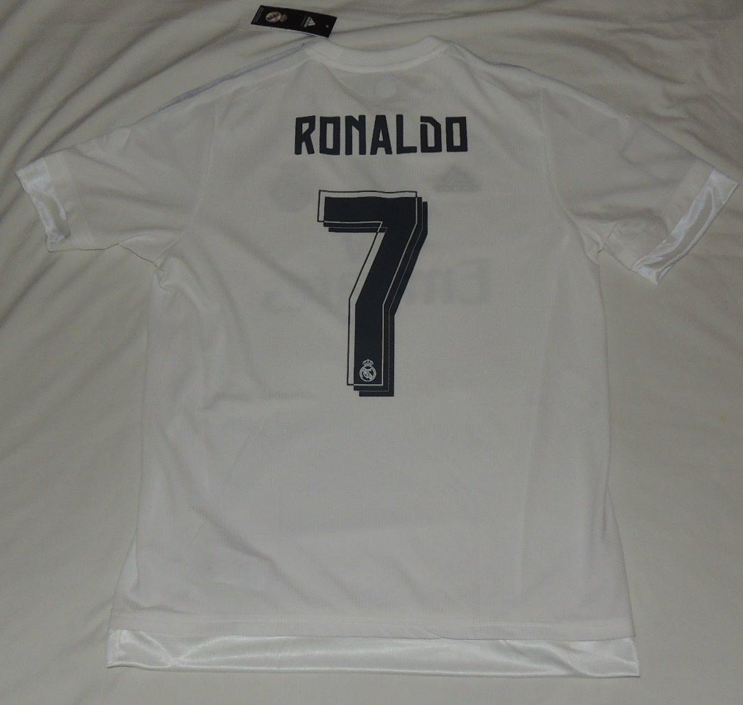 4cf551e2676da Jersey Real Madrid Cristiano Ronaldo 7 Marca adidas -   1