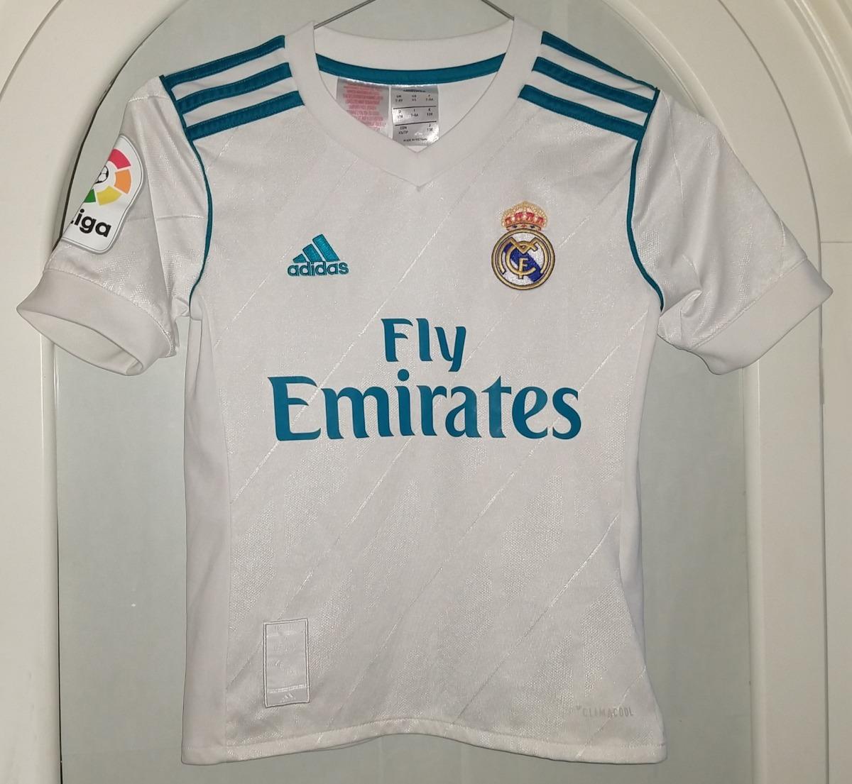 buy popular d08ac 2b1ca Jersey Real Madrid Cristiano Ronaldo Año 17-18 Niño 6-8 Años - $ 700.00